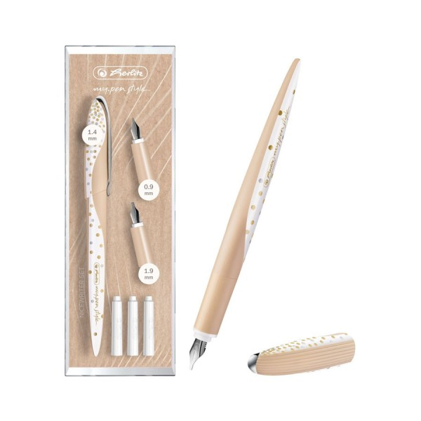 Nicewriter Set my.pen style Pure Glam Herlitz